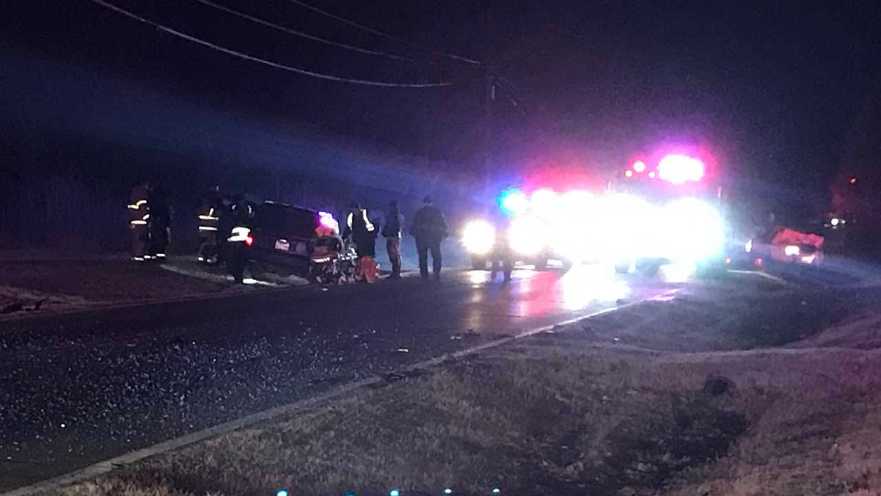 Tulsa Officer Searching For Lost Cow Hit By Suspected DUI Driver