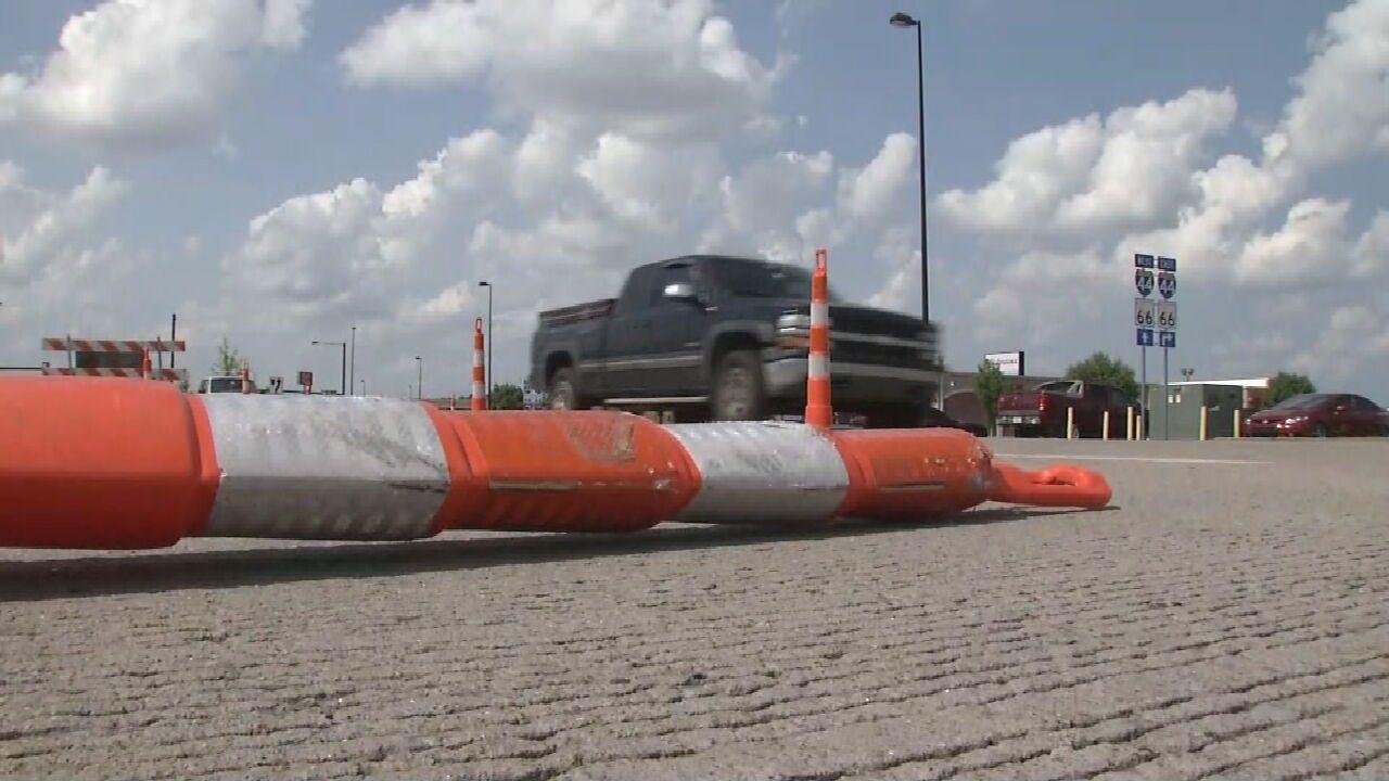 Tulsa City Sidewalk Project Underway Between Lewis And Havard