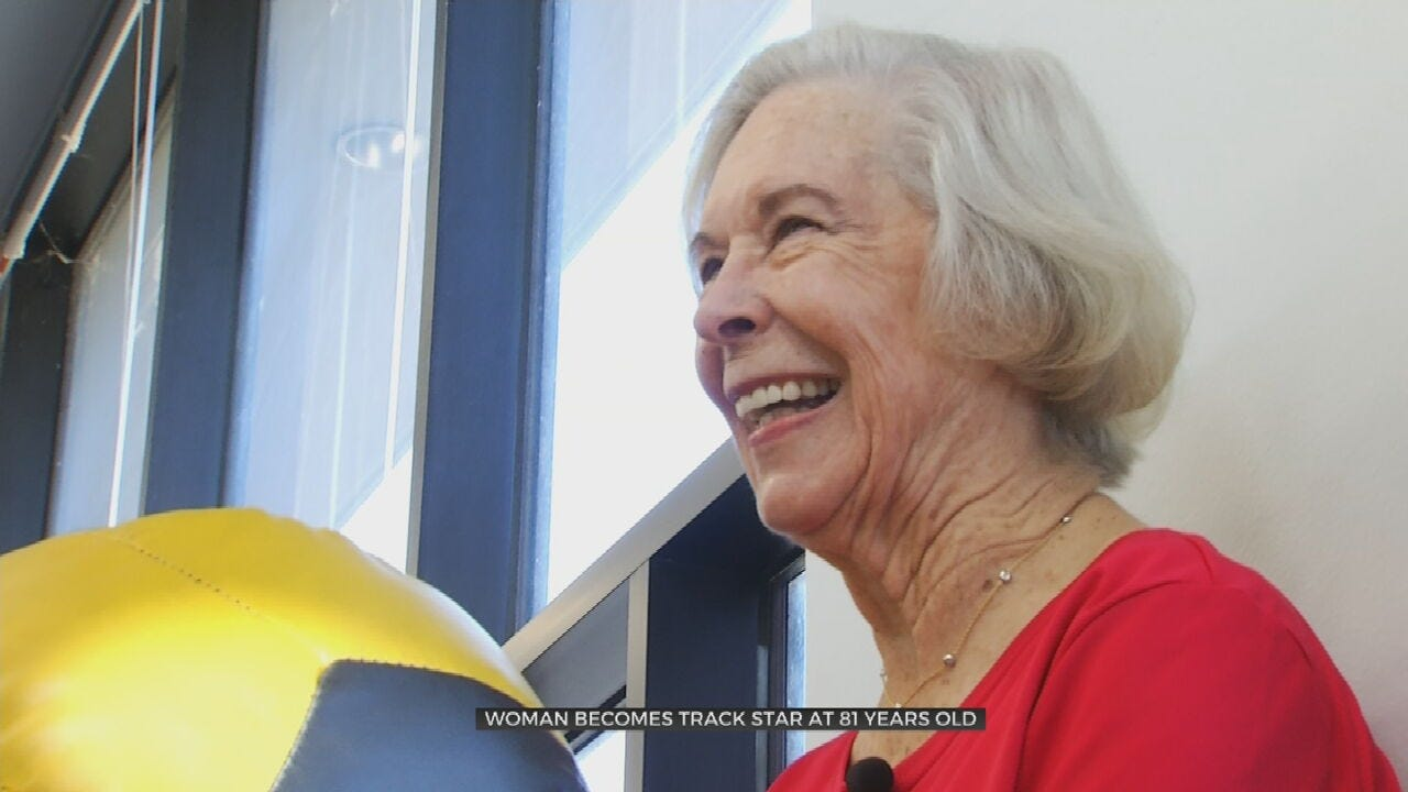 81-Year-Old McAlester Sprinter Competes Worldwide, Inspires Others