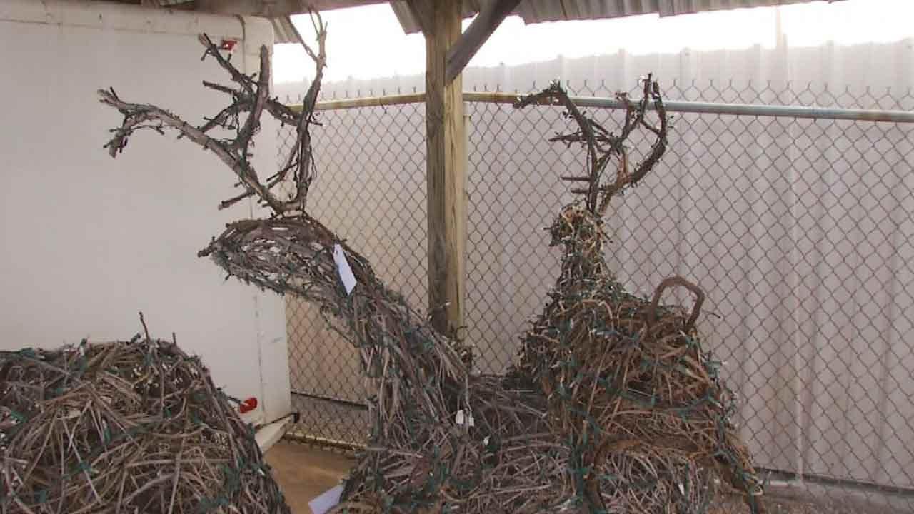 Tulsa Man Creates Animals From Grapevine