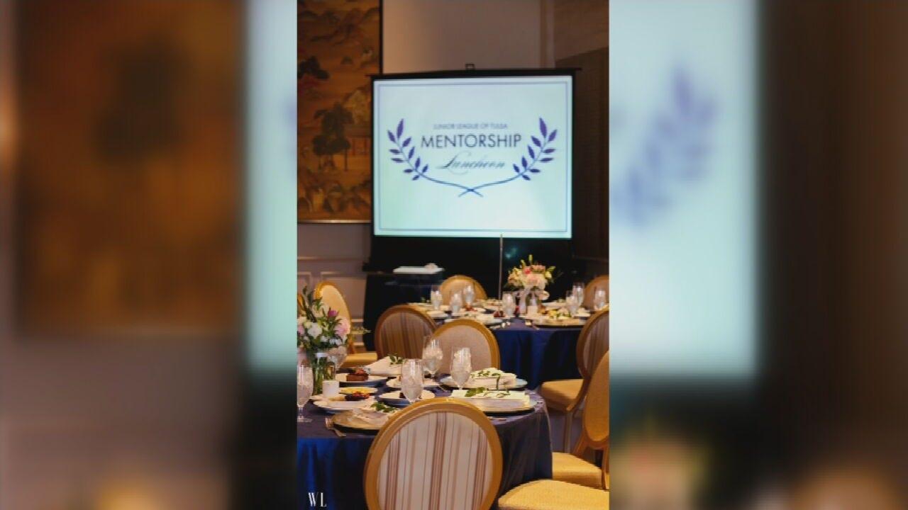 Junior League of Tulsa Holding Annual Mentorship Luncheon