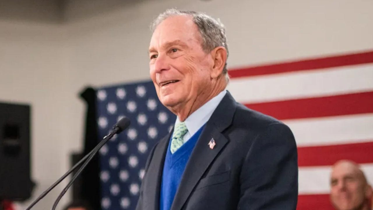 Bloomberg Qualifies For His First Presidential Debate