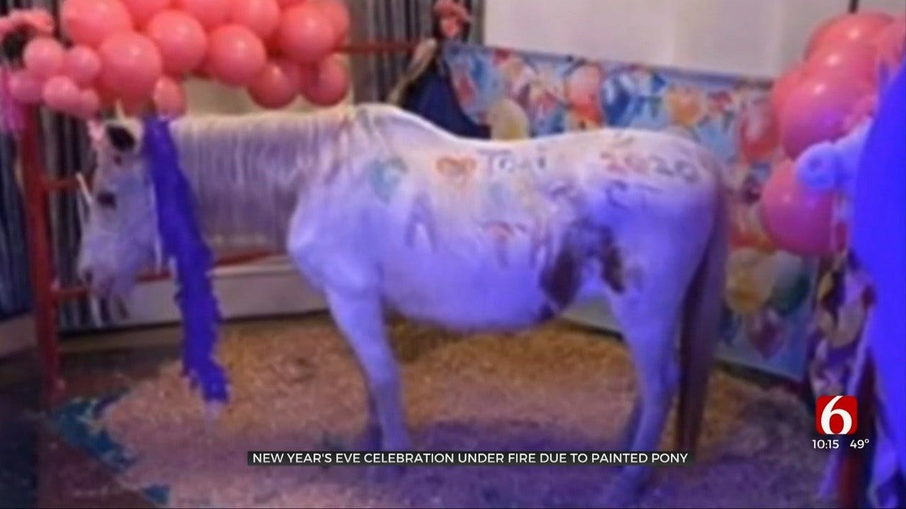 Tulsa New Year's Eve Celebration Receives Backlash After Painted Pony