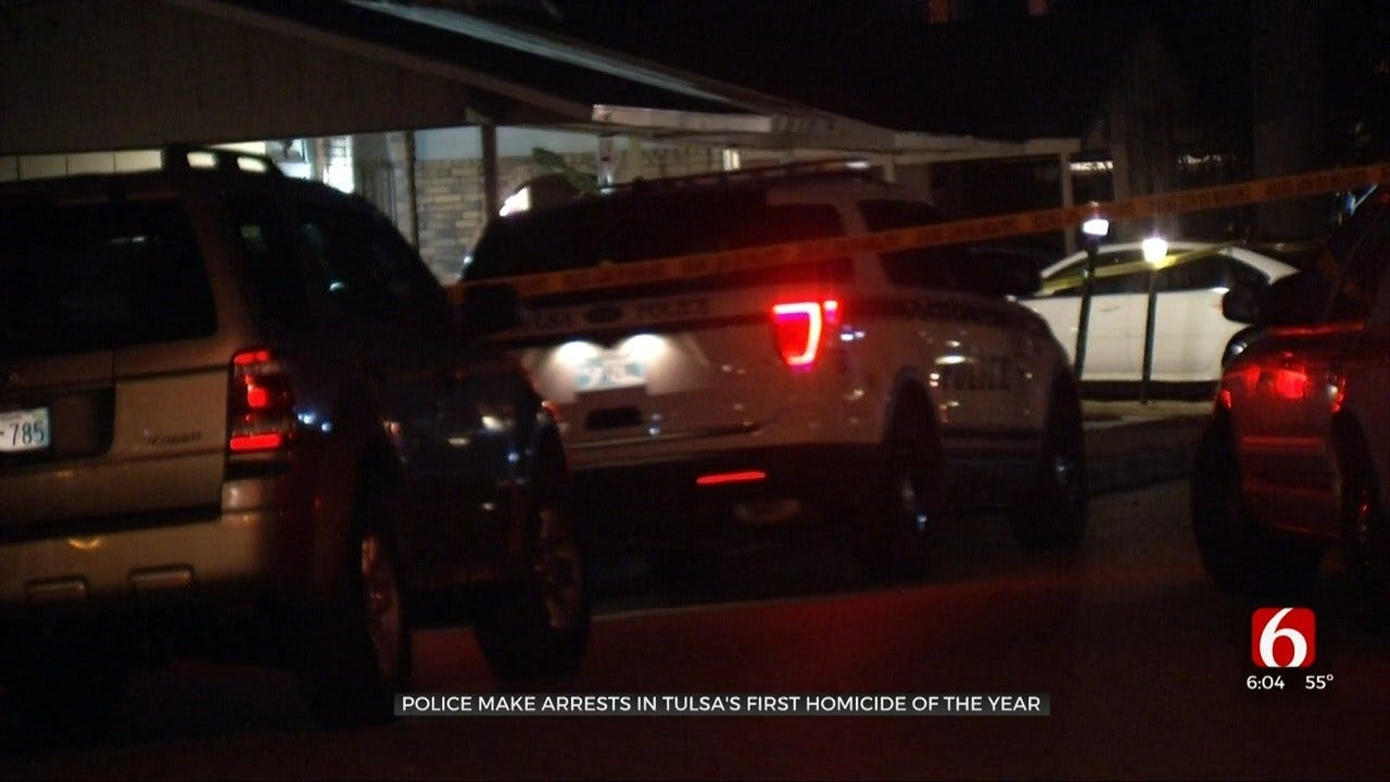 Tulsa Police: 3 Arrested In First Homicide Of 2020