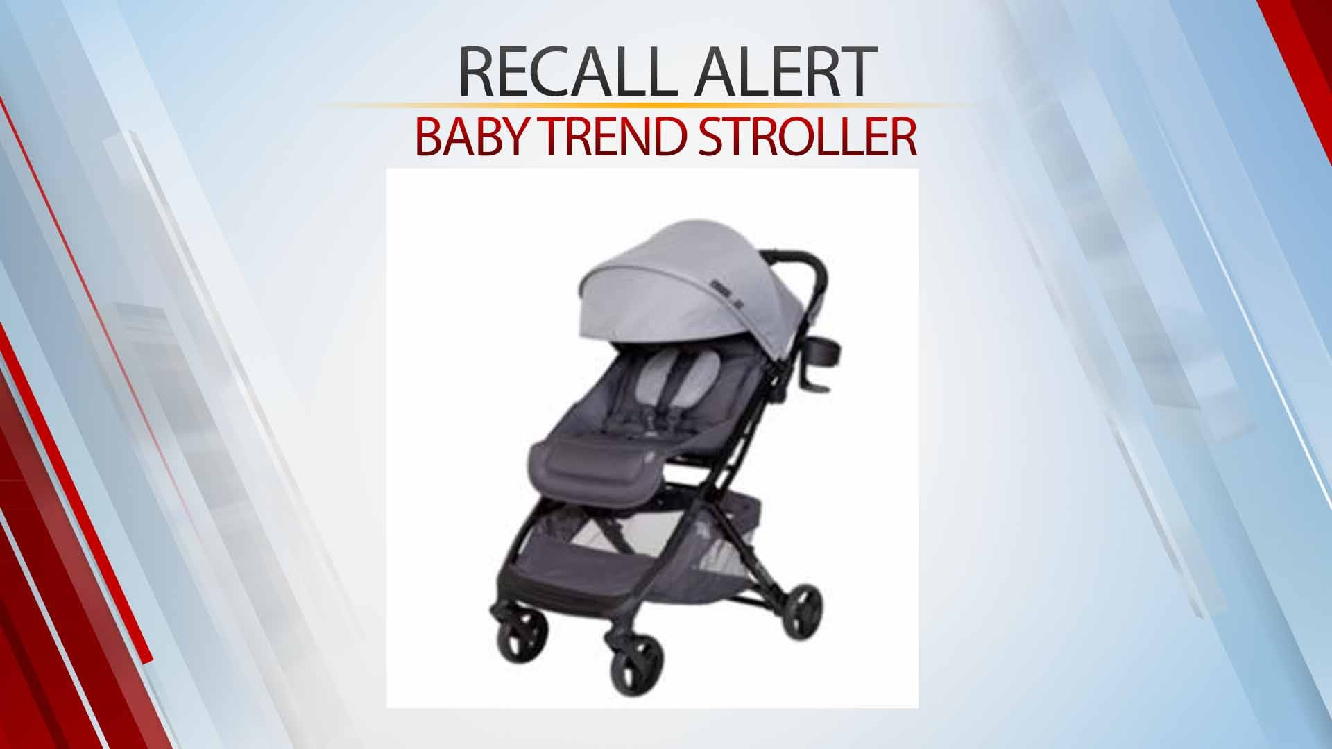 Baby Trend Strollers Sold At Target & Amazon Recalled For Fall Risk