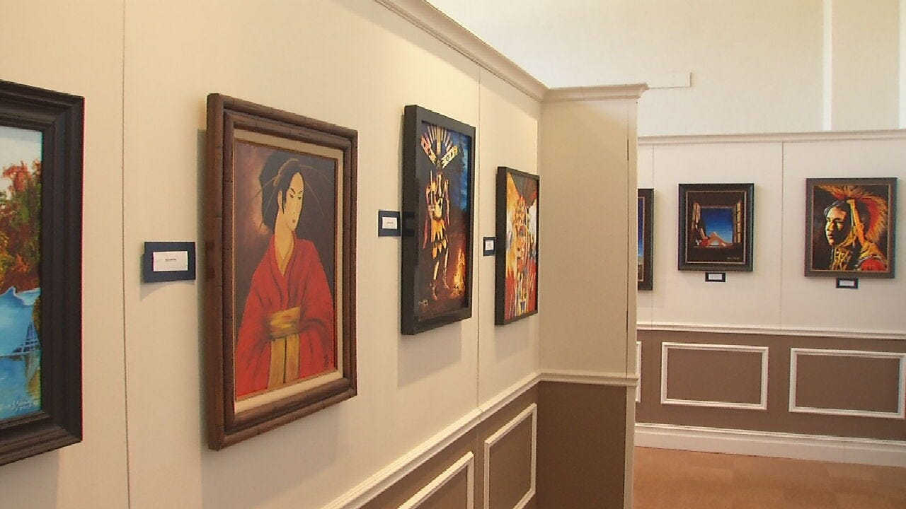 Sand Springs Historical Museum Hosts Local Artist