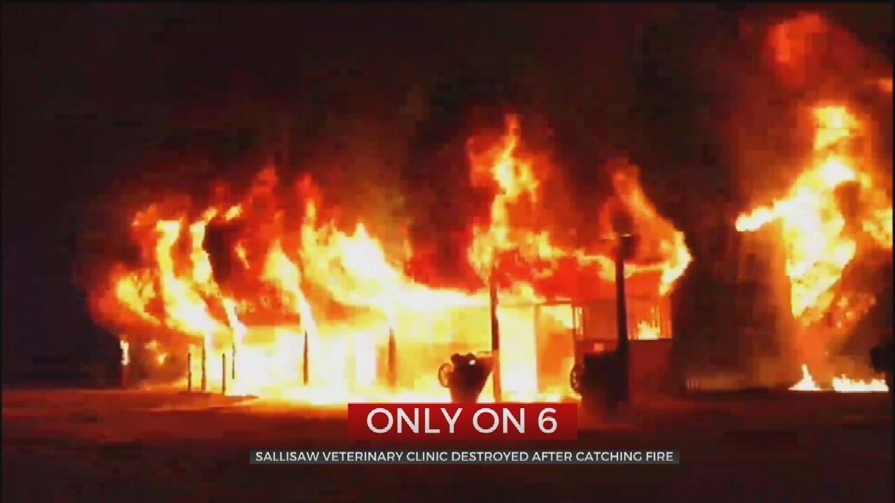 Fire Destroys Sallisaw Veterinary Clinic, Kills 3 Horses