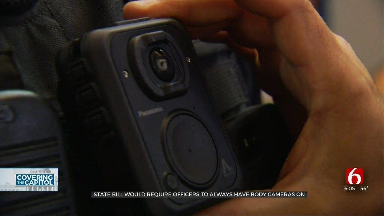 Proposed Oklahoma Bill Would Require Officer Body Cams On At All Times