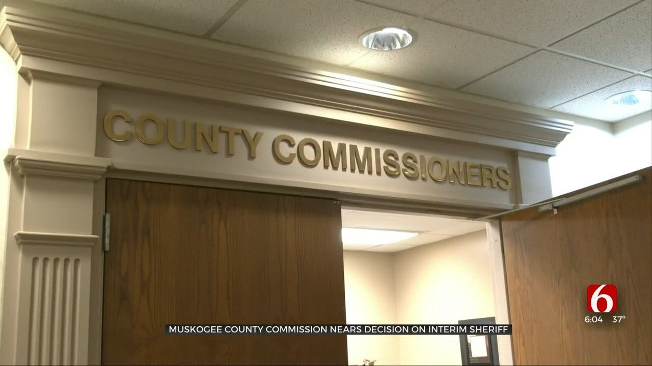Muskogee Co. Commissioners Nearing Decision On Interim Sheriff