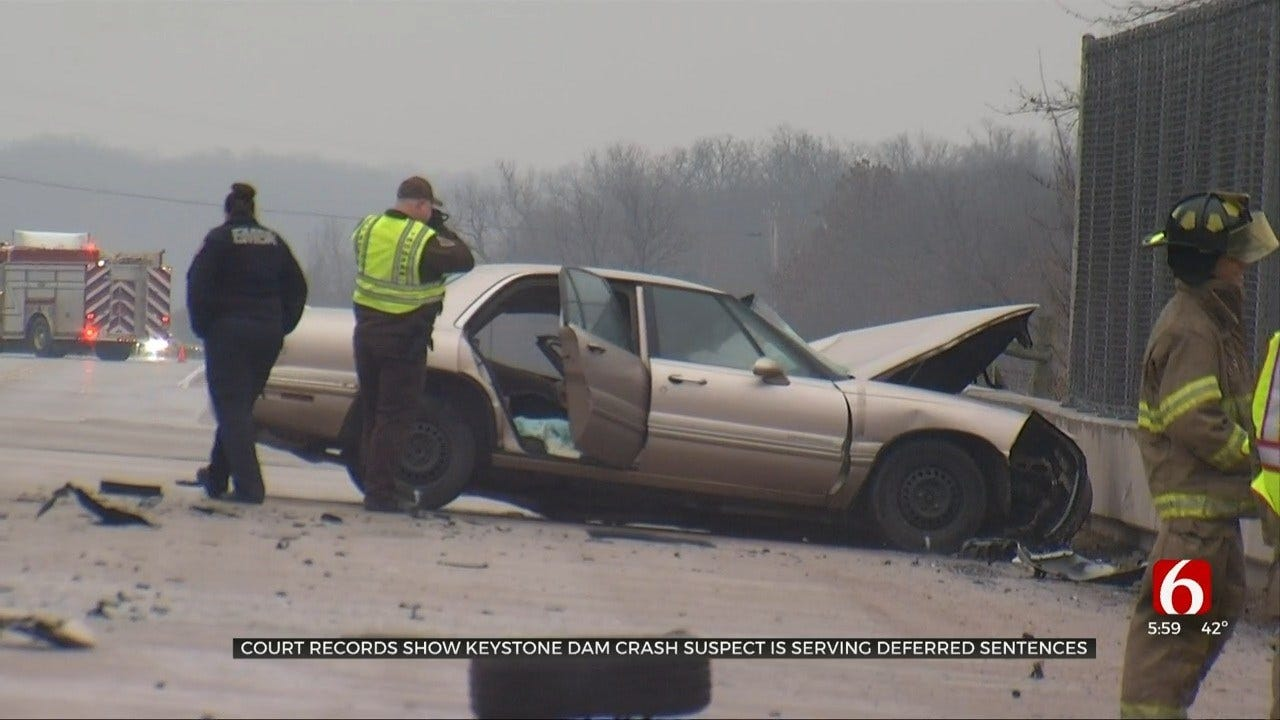 Suspect In Deadly Crash Near Keystone Dam Had Deferred Sentences, Pending Case