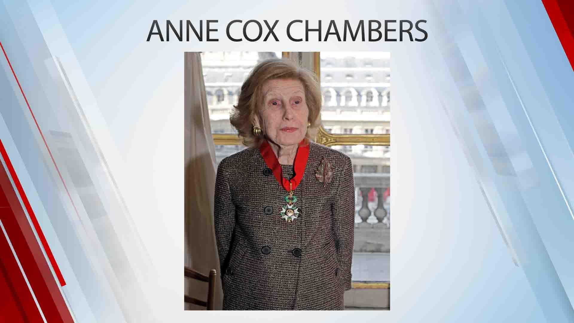 Anne Cox Chambers, Wealthy Newspaper Heiress, Dies At 100