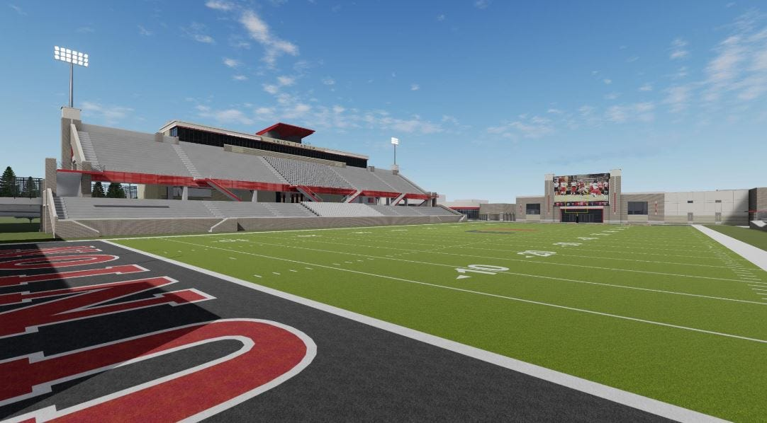End Of An Era: Demolition On Union's Tuttle Stadium Begins