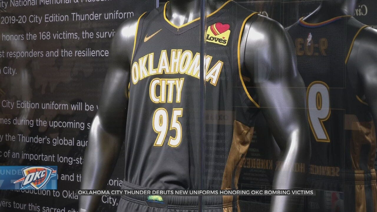 OKC Thunder Honor Murrah Bombing Victims and Survivors With Special Jersey