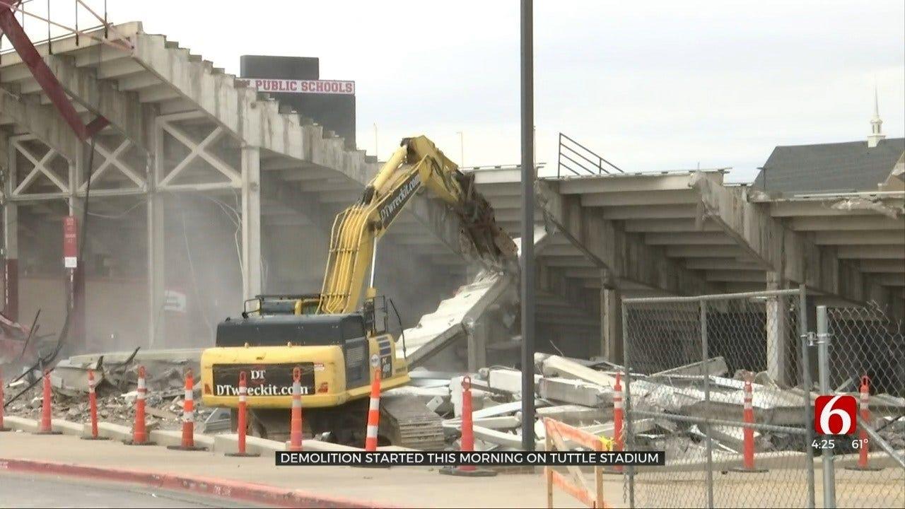 Union Starts Demolition On Stadium To Build New Facility