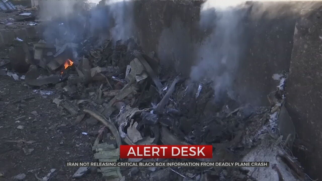 Update: New Information Released About Iranian Plane Crash
