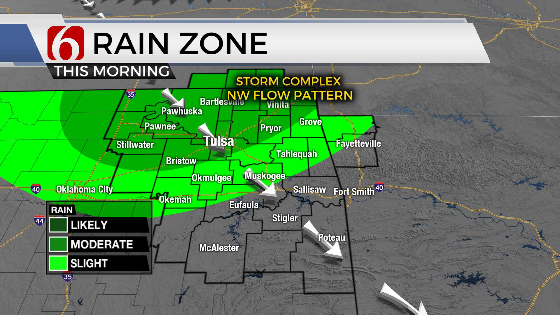 Tracking Storm Chances, Hot Weather For Northern Oklahoma