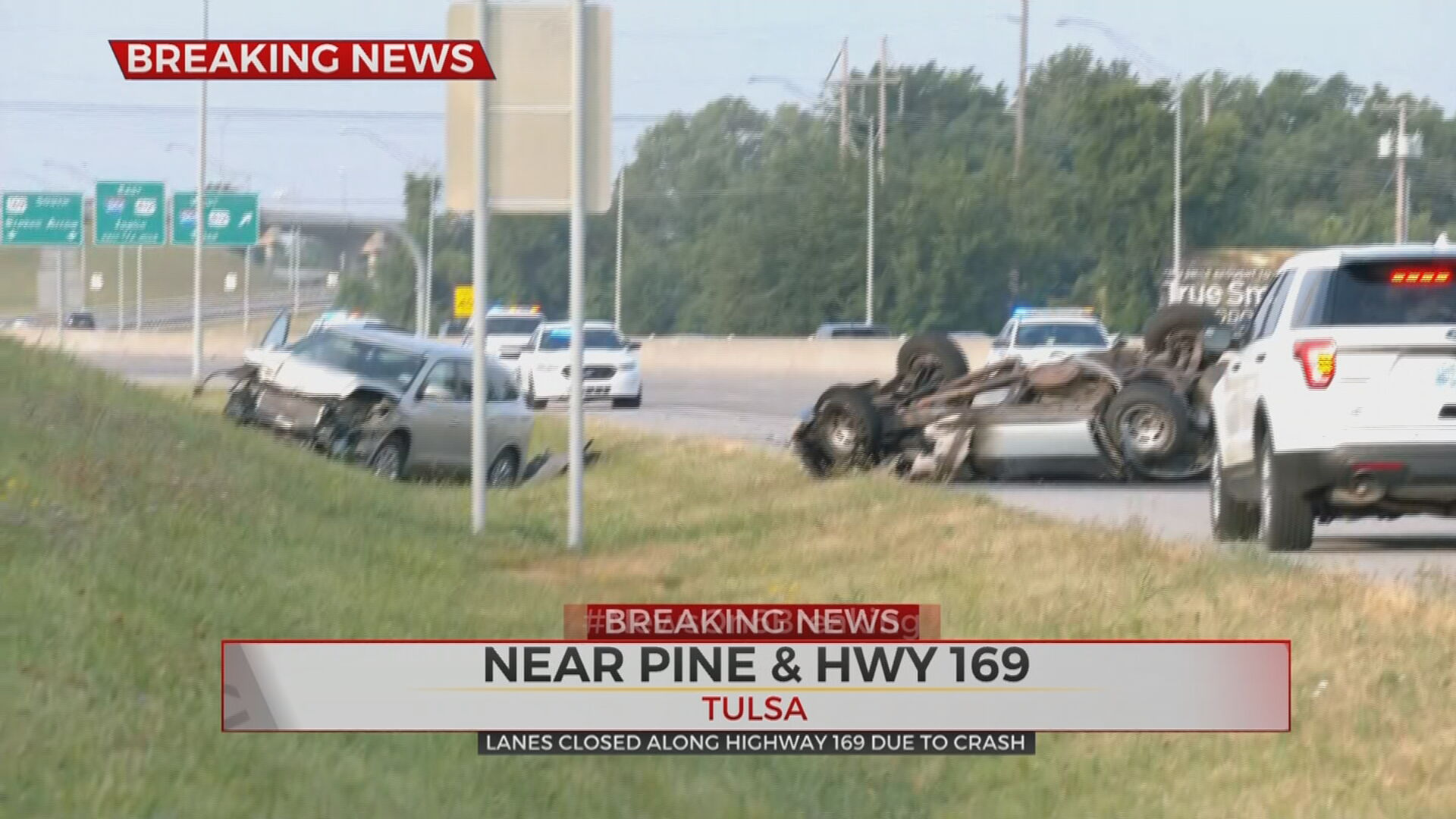 Accident Near Pine And HWY 169