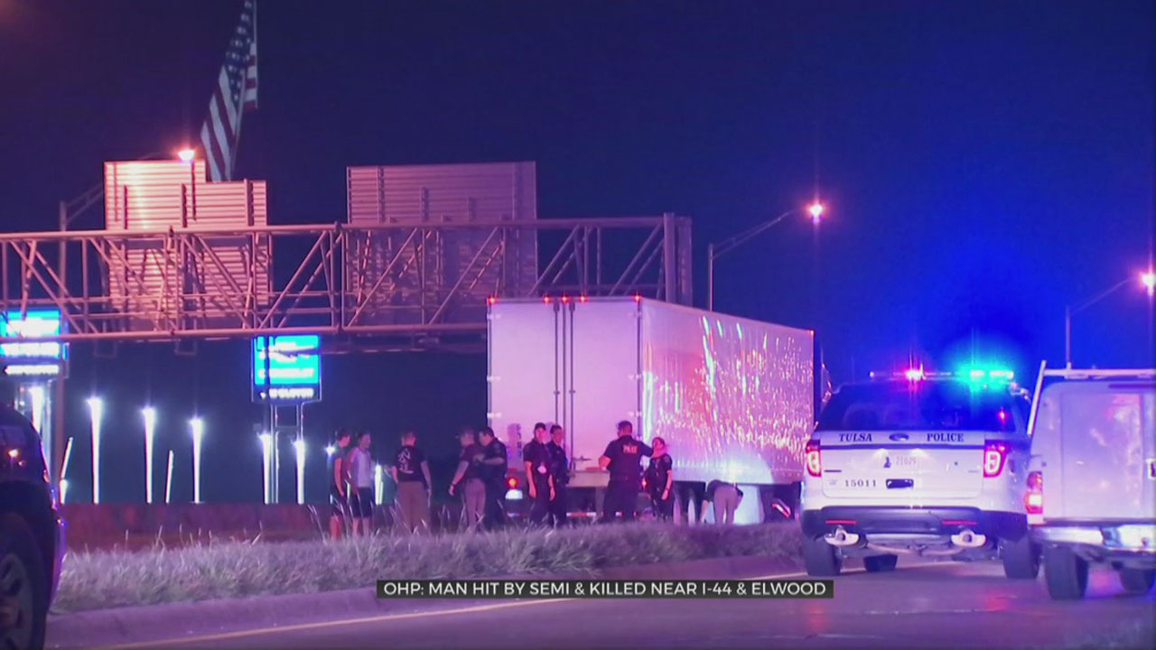 Man Dies After Being Hit By Volvo Semi On I-44