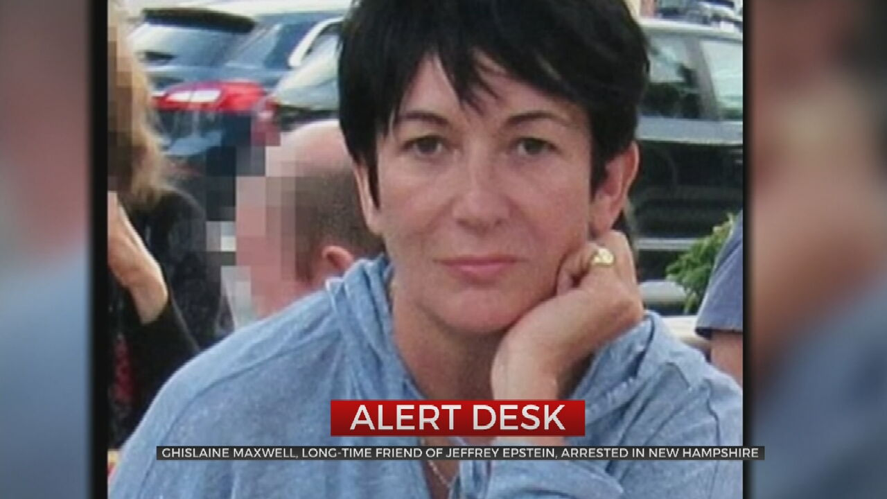 Jeffrey Epstein Confidante Ghislaine Maxwell Arrested, Accused Of 'Unspeakable' Crimes
