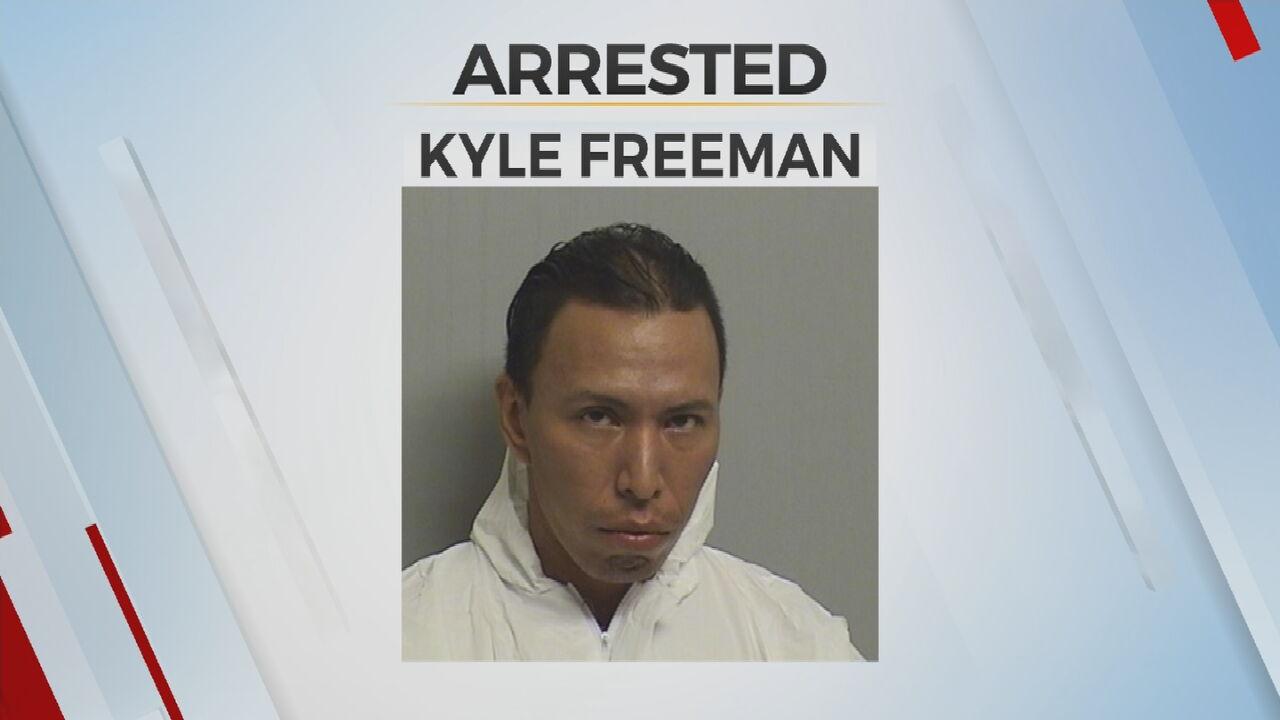 Booking photo of Kyle Freeman.
