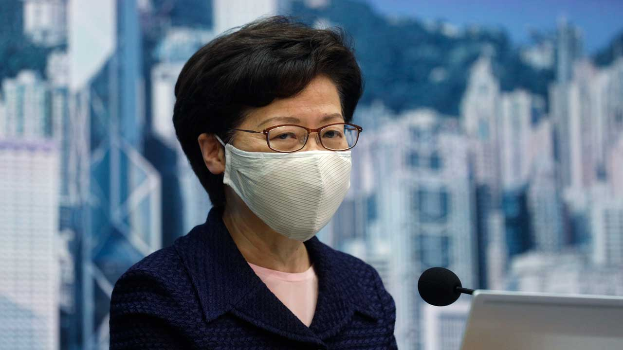 U.S. Hits Hong Kong Leader, Other Officials With Sanctions, Citing 'Brutal Oppression'