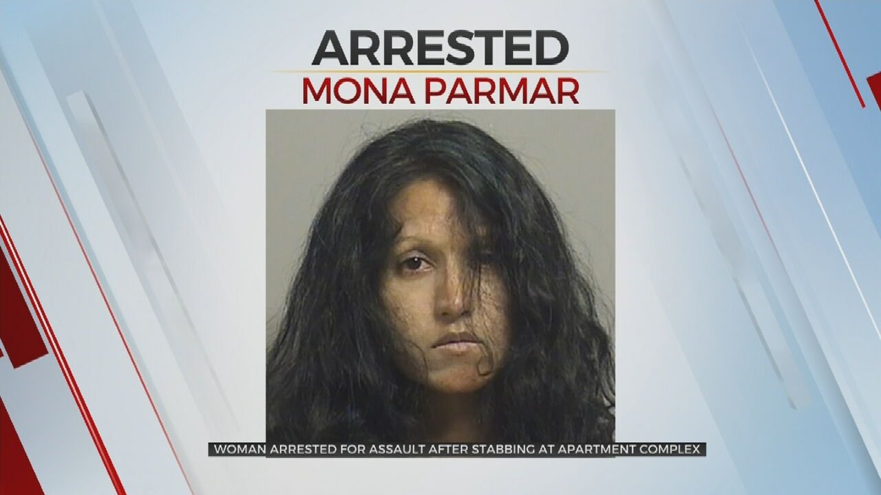 Booking photo of Mona Parmar.