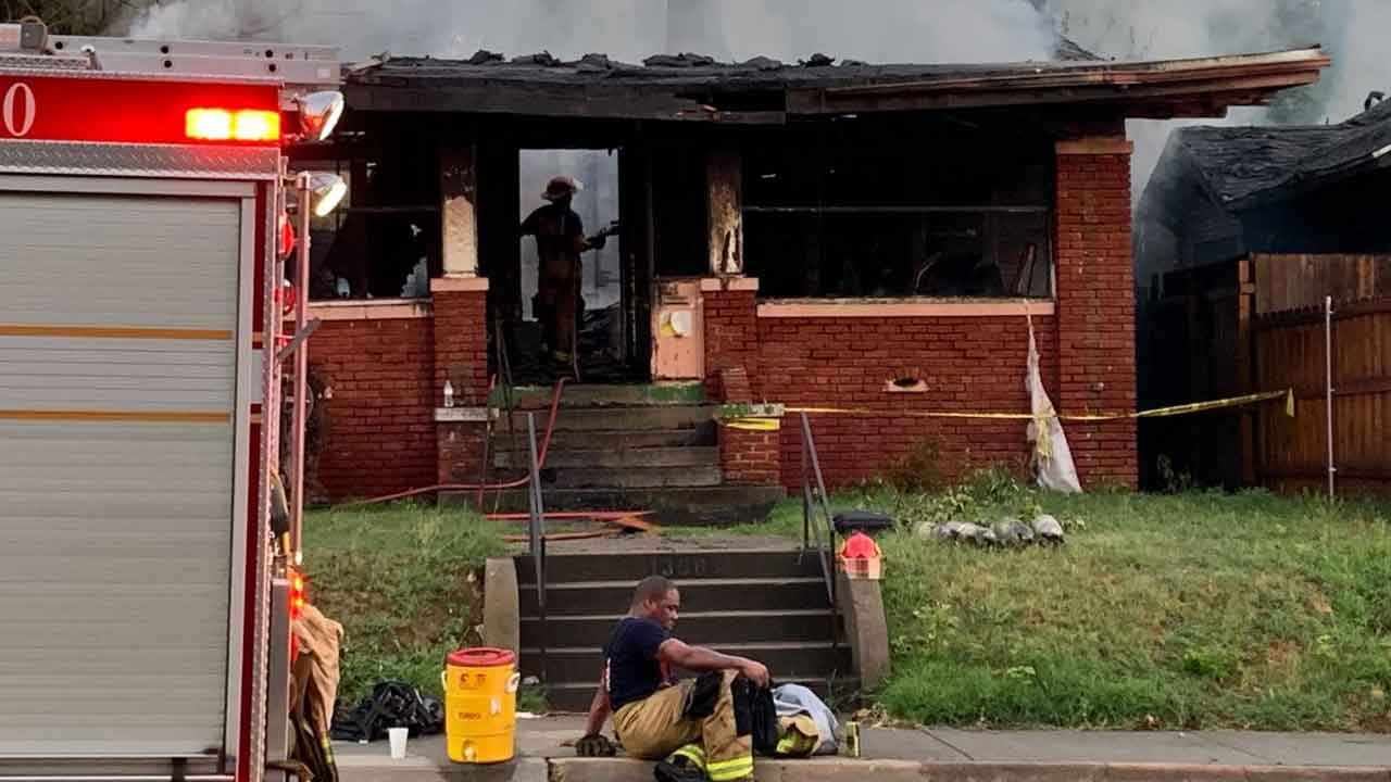 TFD: House Considered Total Loss After Fire, Nobody Harmed