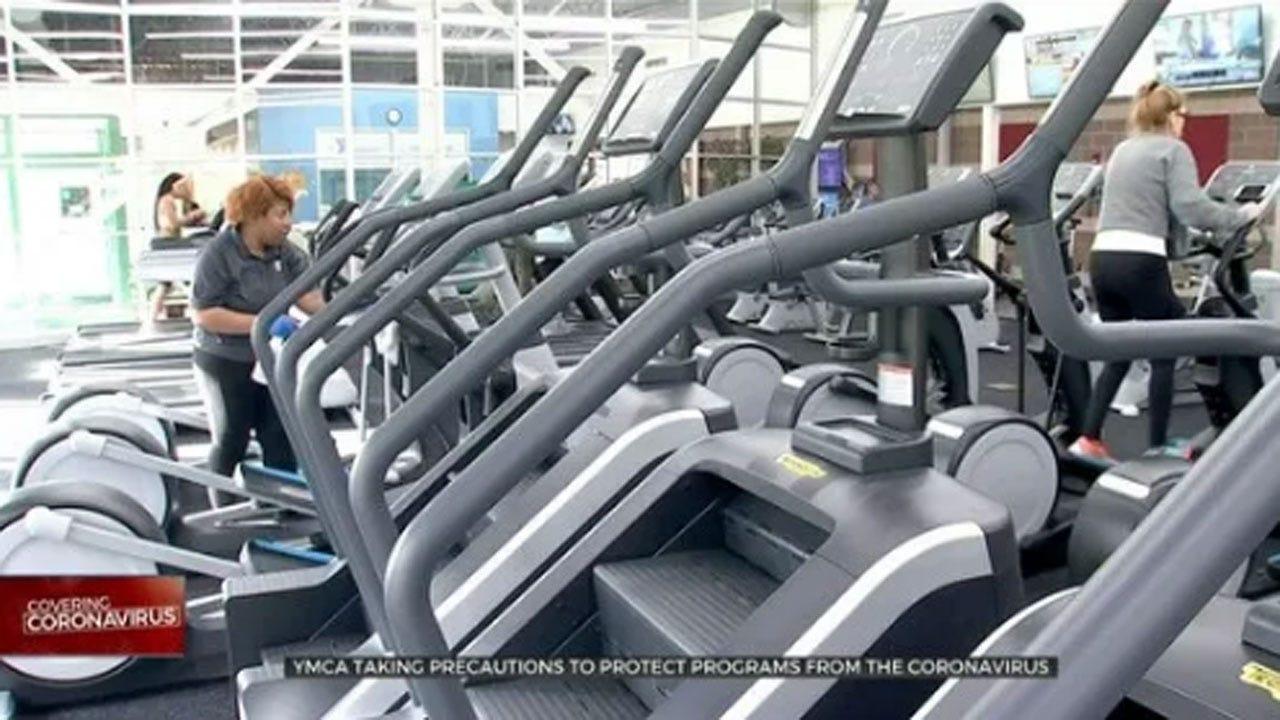 Tulsa YMCA Campuses Reopen, Taking Precautions Due To Coronavirus (COVID-19)