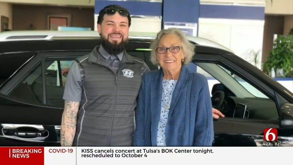 Local Dealership Helps Victim Of Hit-And-Run Crash