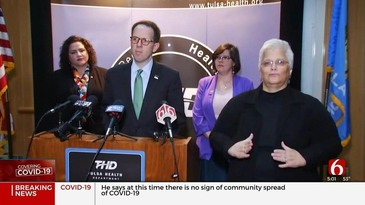 Tulsa Leaders Urge Others To Be Calm Amid Coronavirus (COVID-19) Outbreak