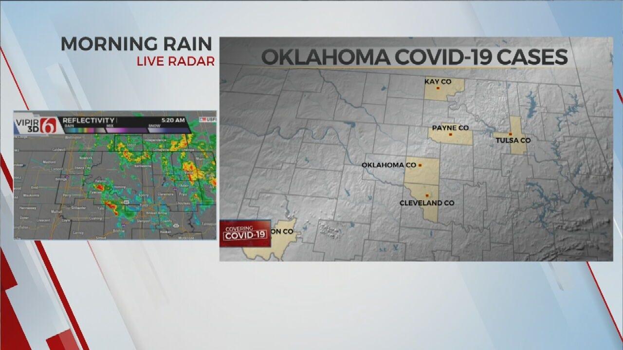 8 Confirmed Coronavirus (COVID-19) Cases In Oklahoma