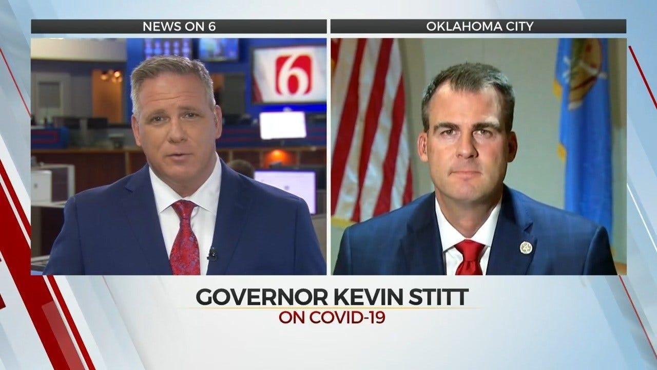 Gov. Kevin Stitt: Oklahomans Are Flattening The Curve For State's Coronavirus Outbreak