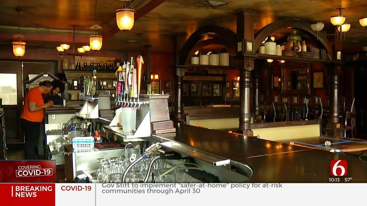 Tulsa Restaurant Employees Get Help From Community Amid Coronavirus Outbreak