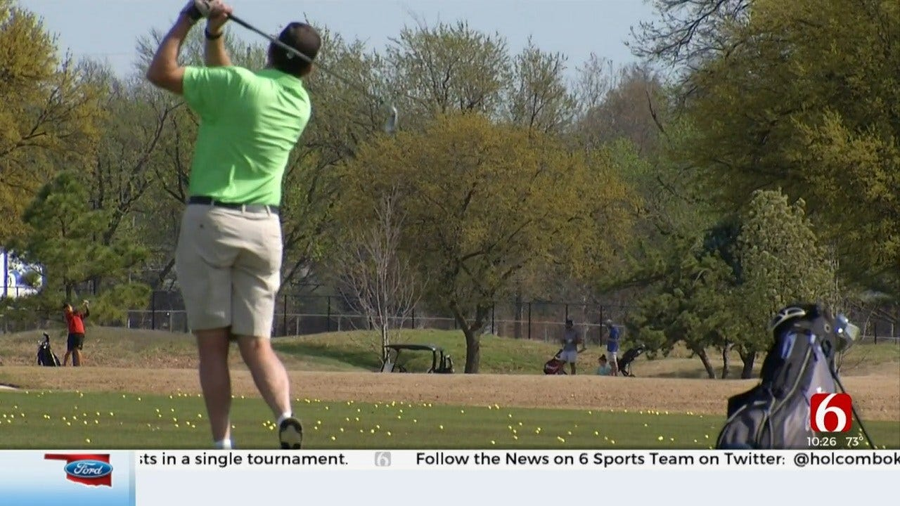 Oklahoma Golf Courses Remain Open In Oklahoma Amid Coronavirus (COVID-19) Outbreak