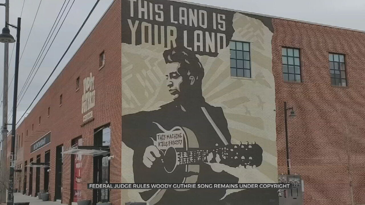 Judge Rules Woody Guthrie's 'This Land' Does Not Belong To The Public