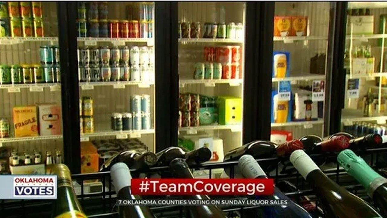 Oklahoma Counties To Vote On Sunday Liquor Sales