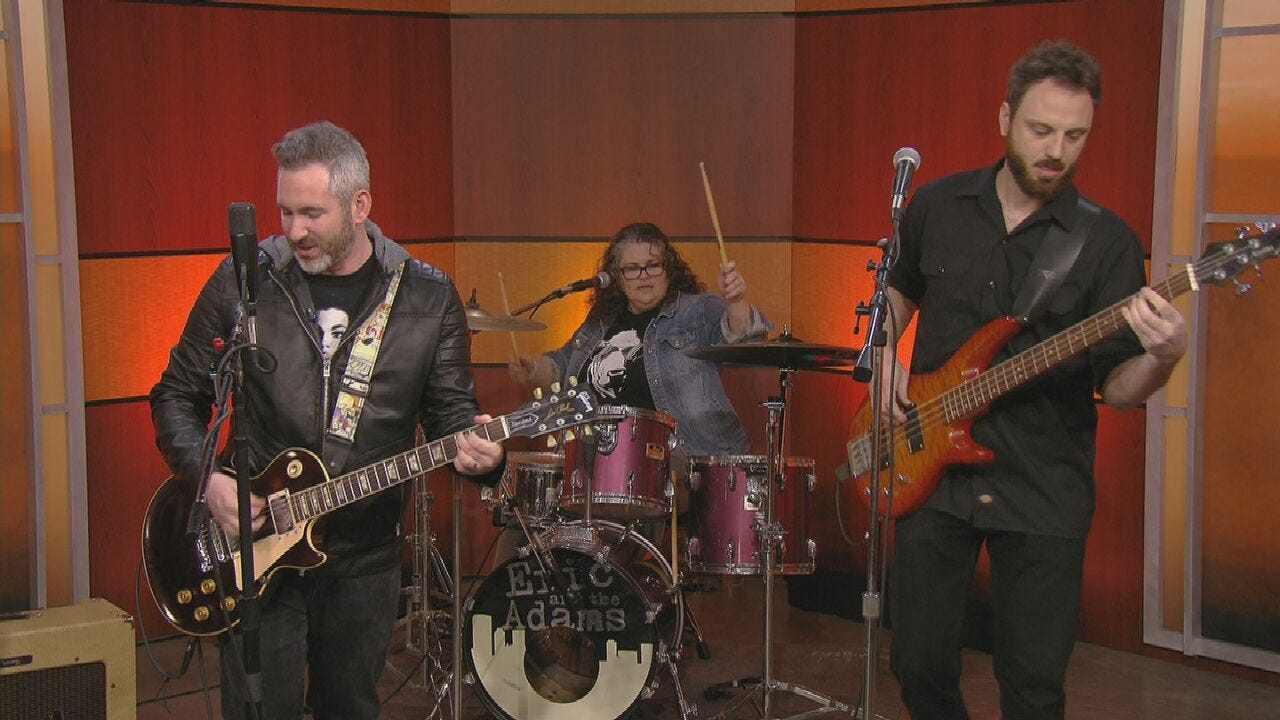 Eric And The Adams Stop By News On 6
