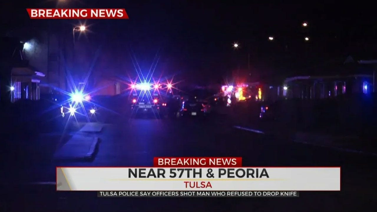 Authorities Investigate Officer-Involved Shooting At Tulsa Apartment Complex