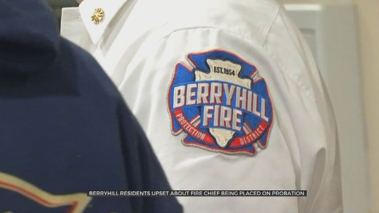 Board Of Directors Put Berryhill Fire Chief On Probation
