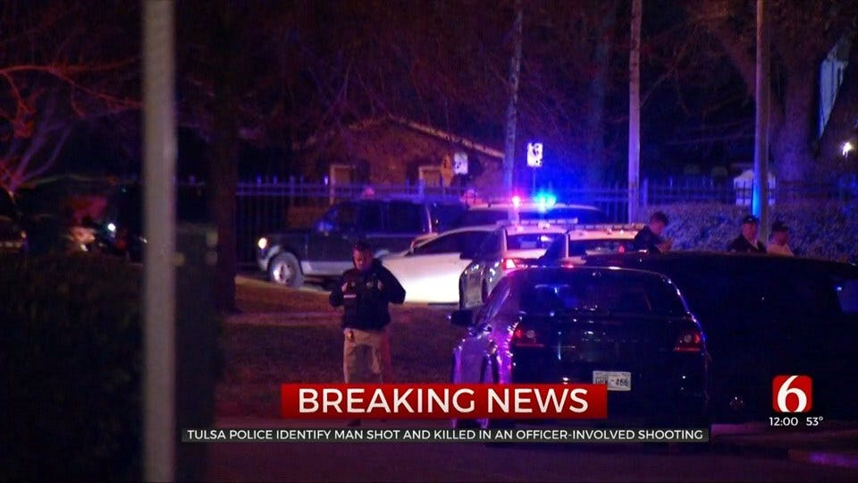 Man Shot In Officer-Involved Shooting Dies, Tulsa Police Say