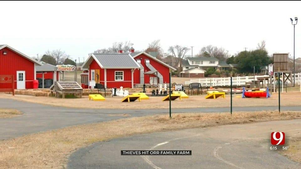 Thieves Target Orr Family Farm