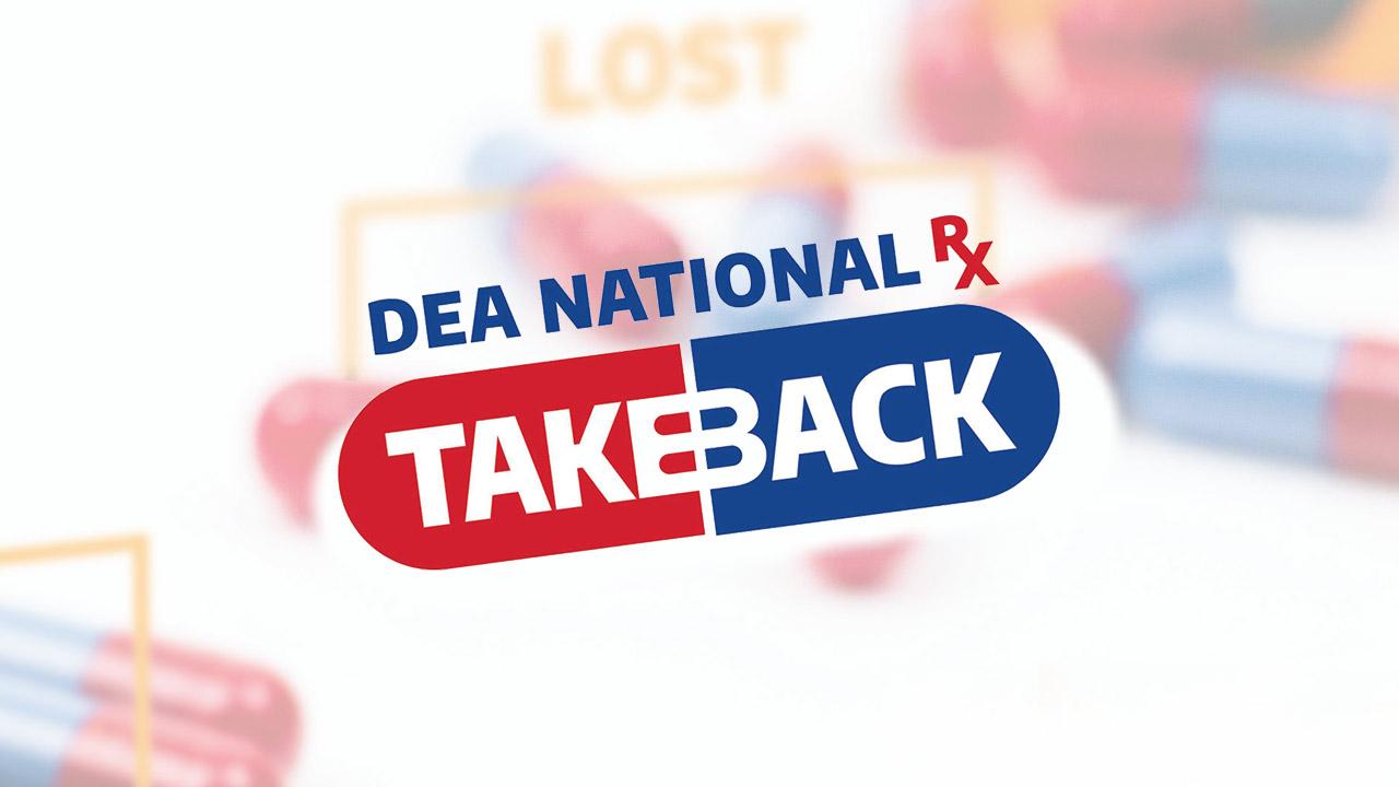 Prescription Drug Take Back Drop Off Events