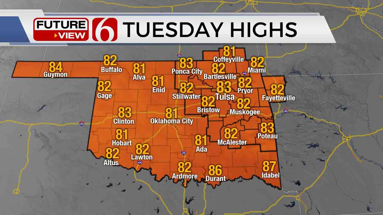 Pleasant Weather Continues For Green Country