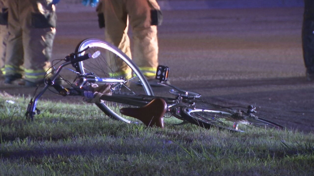Cyclist Hospitalized After Hit And Run