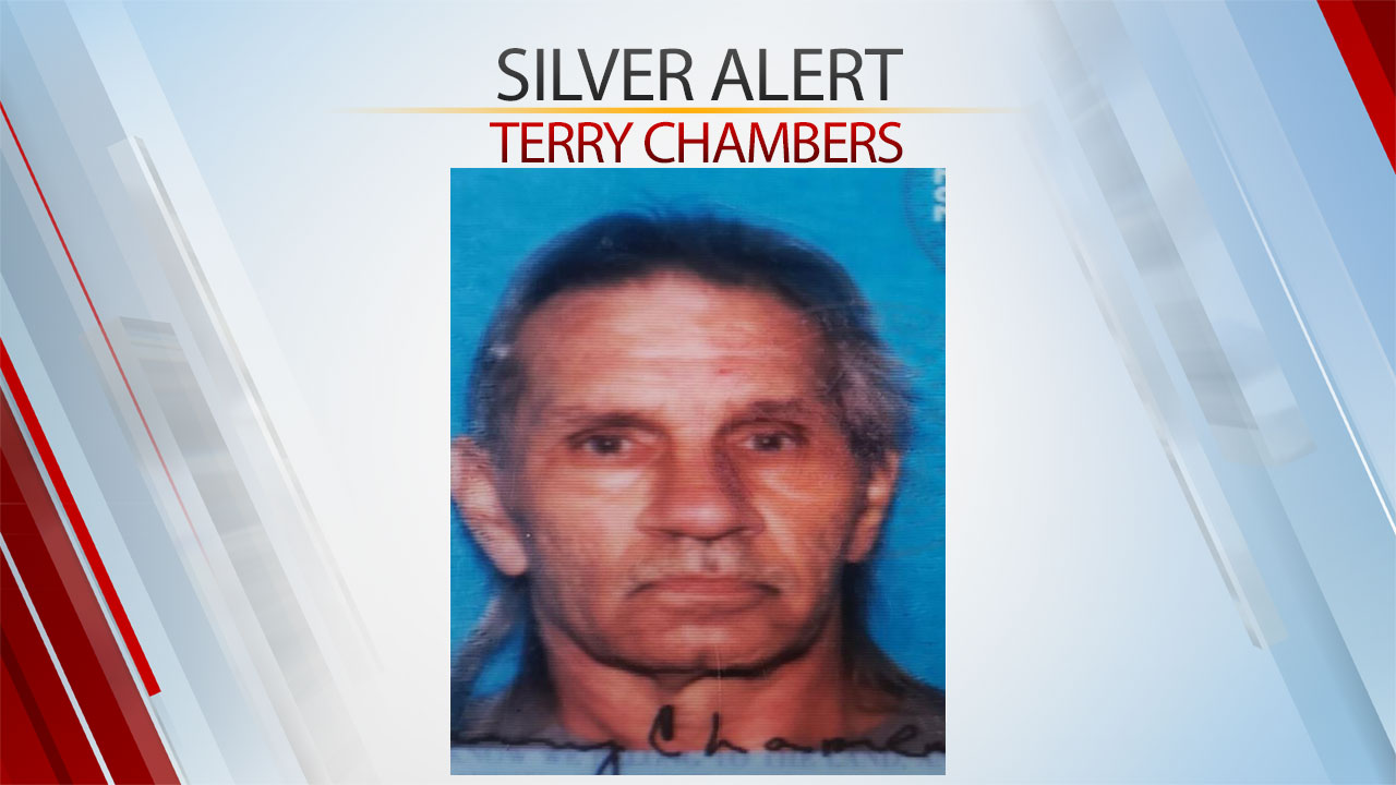 Silver Alert Terry Chambers Sept. 5, 2020