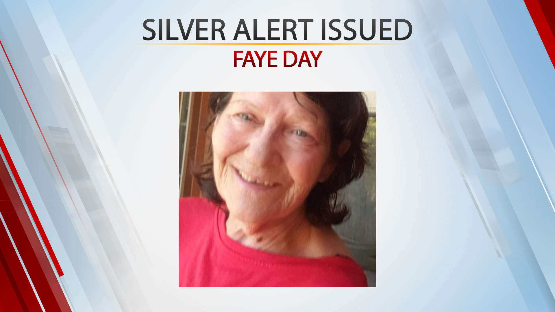 Silver Alert Issued For Missing 73-Year-Old Woman In Creek County