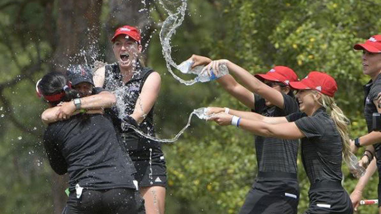 University Of Tulsa Women's Golf Clinch Conference Title