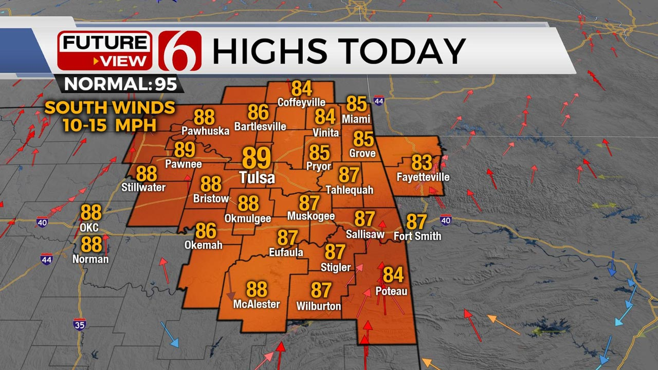 Scattered Storms Before Heat, Humidity Return