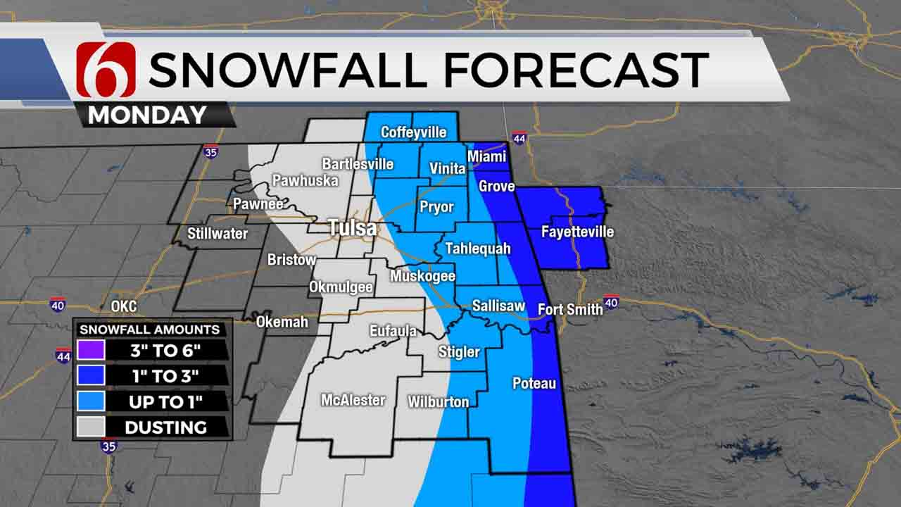 Wind Chills, Deep Freeze Continues For Green Country