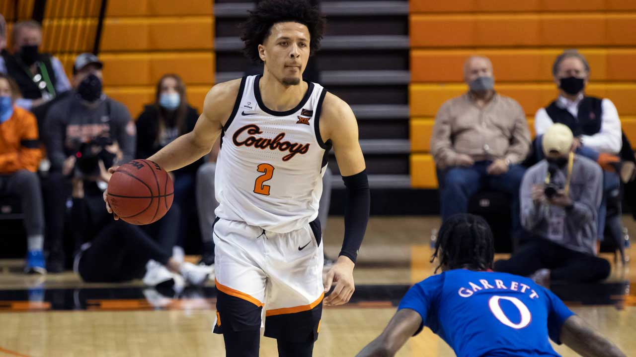 Oklahoma St. Beats No. 6 Kansas 75-70